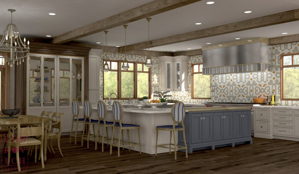 Pictures Of Small Kitchen Design Ideas From Hgtv: Lobkovich Kitchen Designs